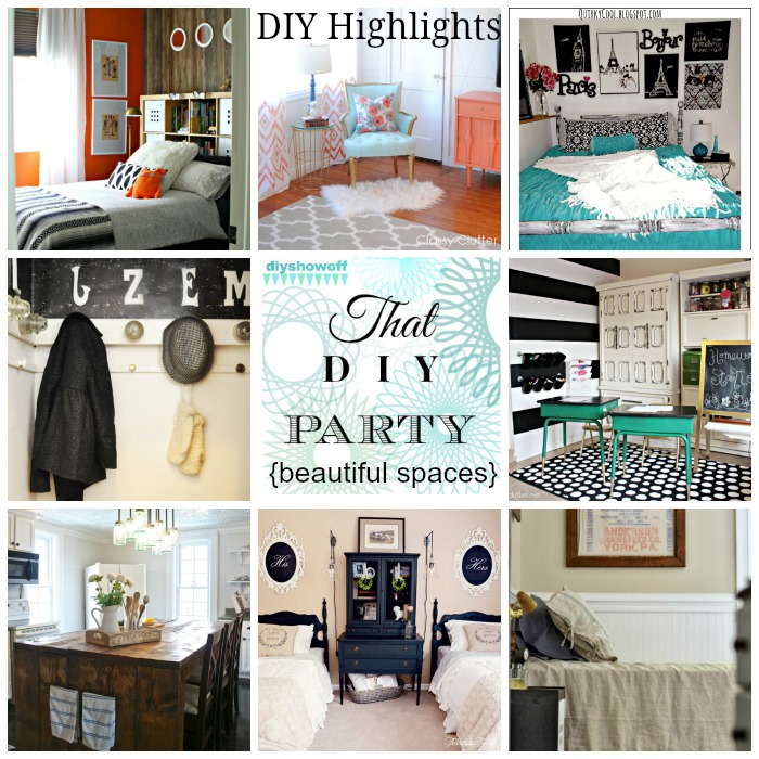 That DIY Party Highlights {beautiful spaces} January 2014