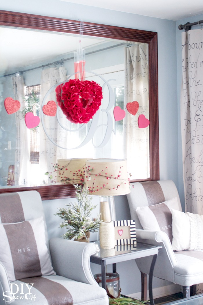 Valentine decorating