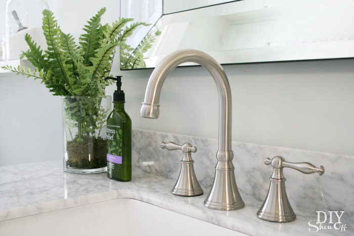 Fancy Virtu USA Talia faucet DIYShowOff bathroom makeover