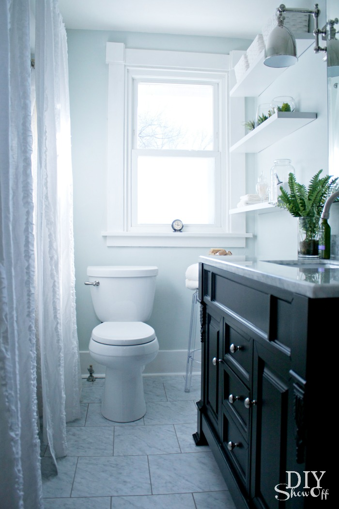 bathroom makeover diyshowoff