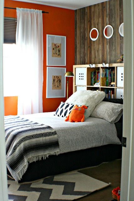 boys modern bedroom @AmyKrist