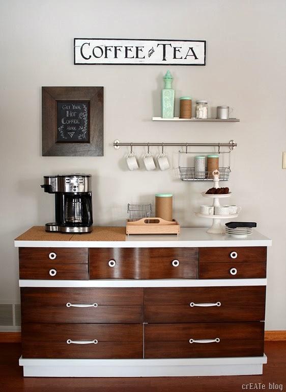 coffee bar @CreatedwithLove