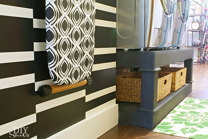Laundry Room Herringbone Pattern Tile Floor Details - DIY Show Off ...