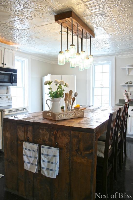 farmhouse kitchen @NestofBliss