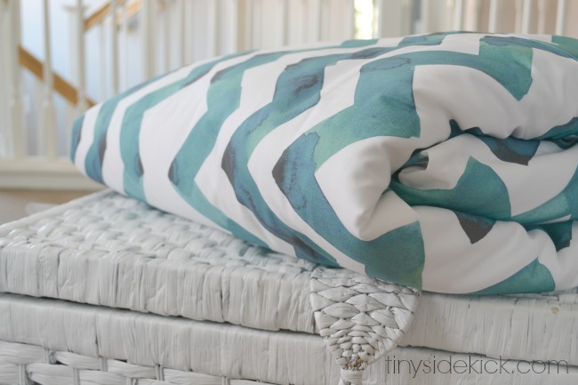 how to make a duvet cover @TinySideKick