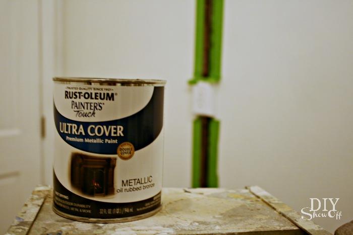 oil rubbed bronze paint