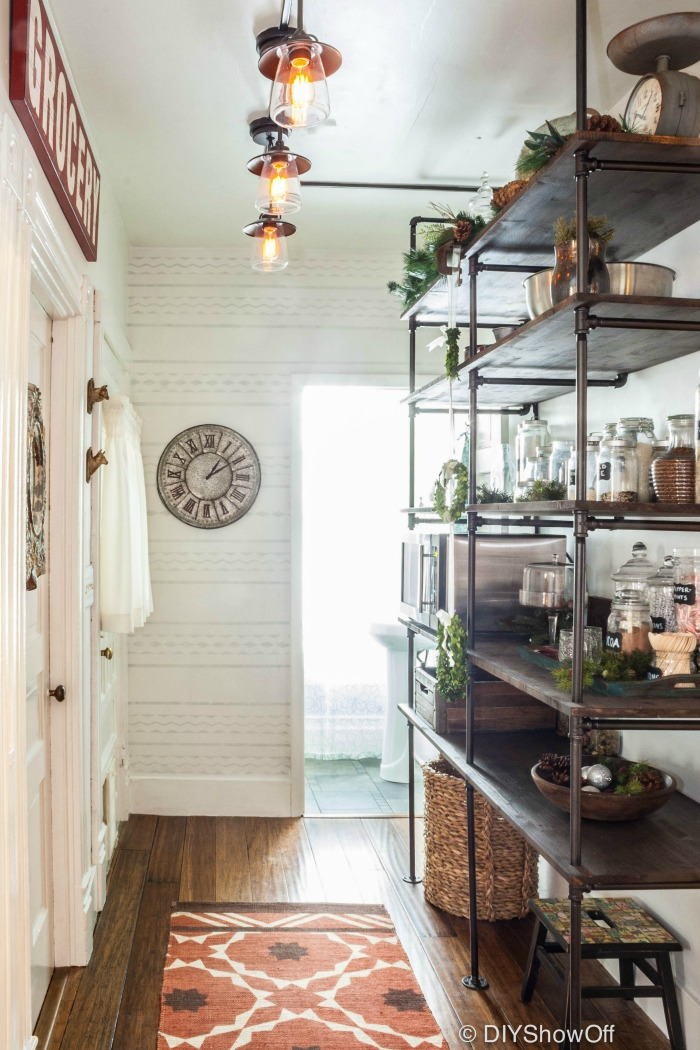 Eclectic Vintage Modern Farmhouse Kitchen DIY Show f ™ DIY Decorating a