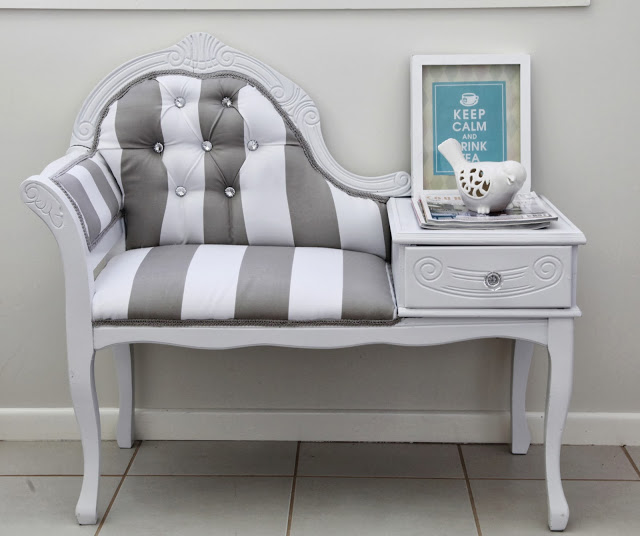 restoring queen anne settee @TheWhimsicalWife
