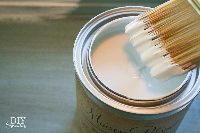 Maison Blanche furniture paint