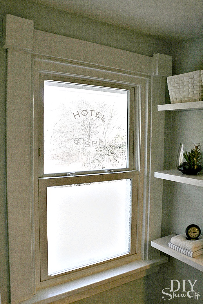 bathroom window privacy idea