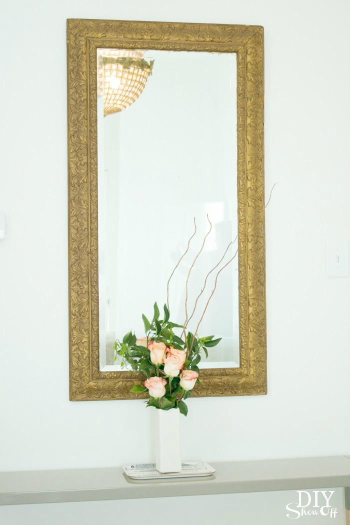console table mirror