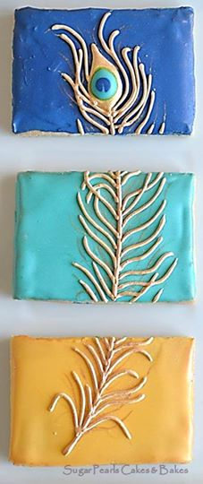 triptych inspired cookies