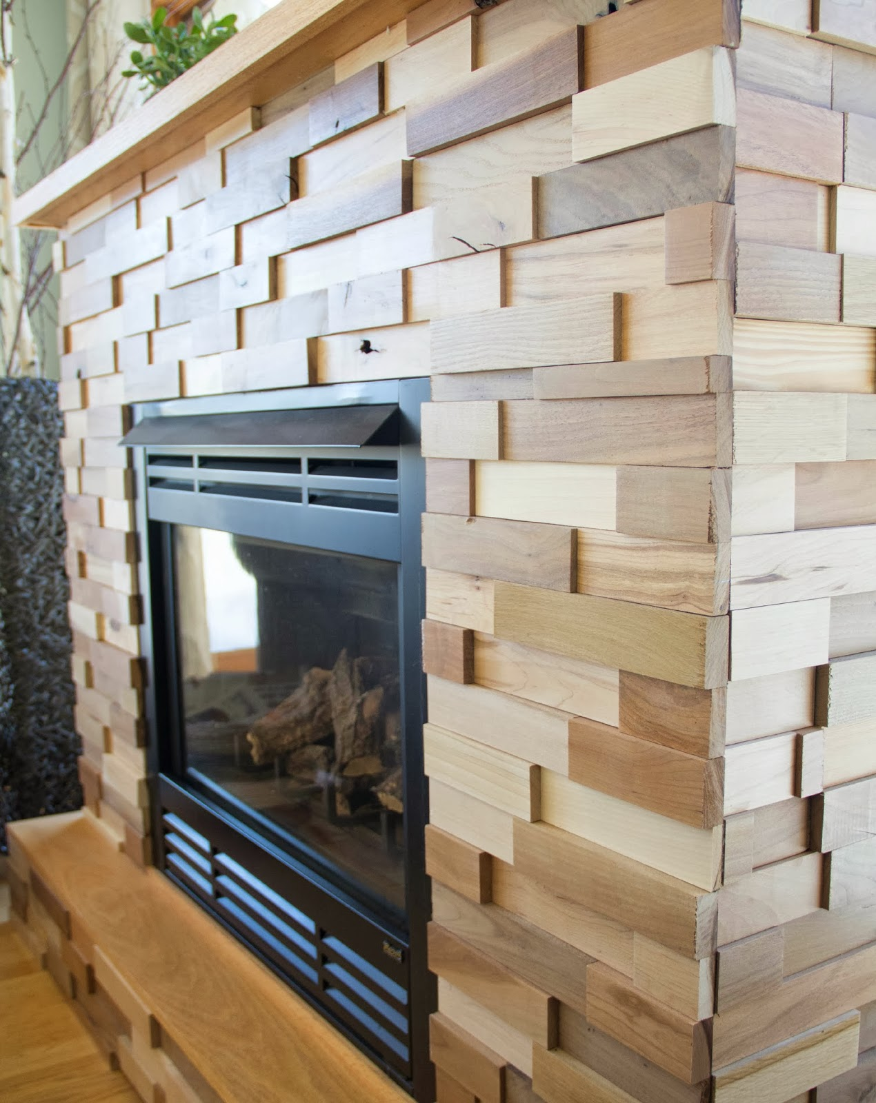 fireplace makeover - The Divine Living Space blog