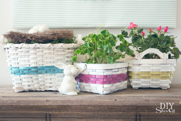 how to make an easter basket collection at diyshowoff.com