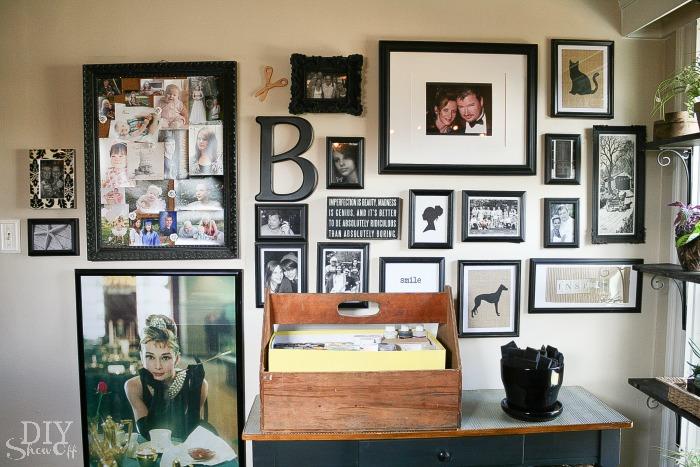 Craft Room gallery wall