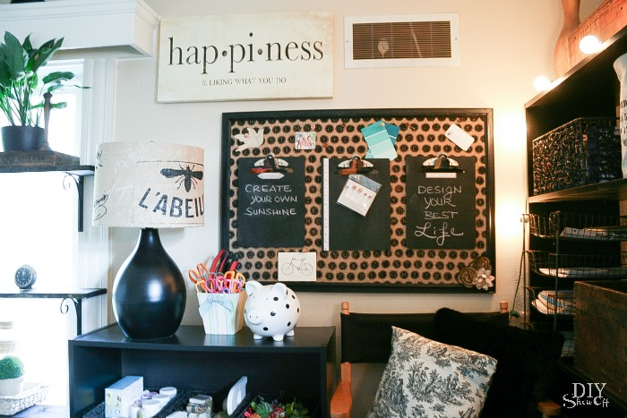 Craft Room message center