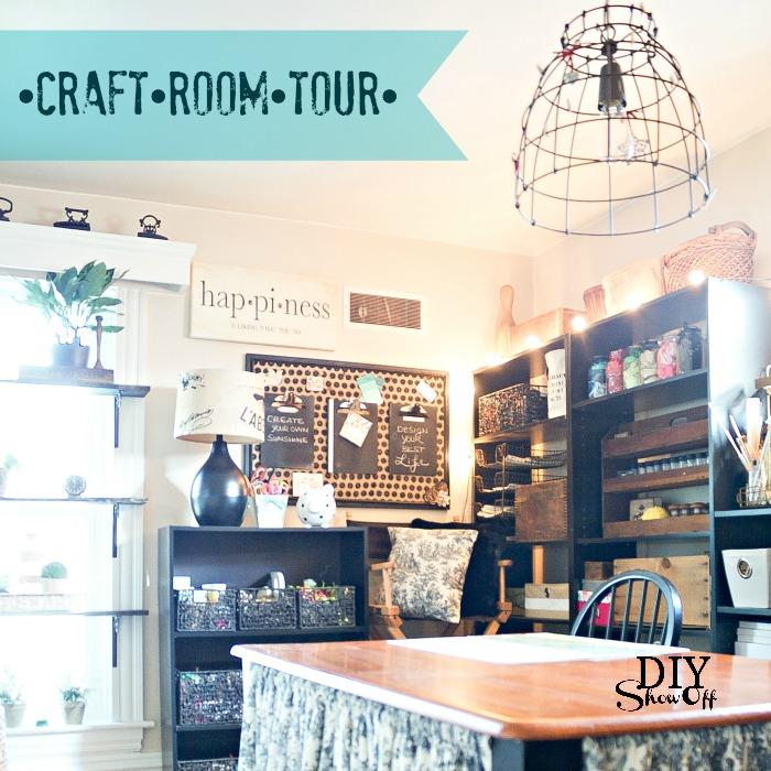 Superb DIY Show Off Craft Room Tour