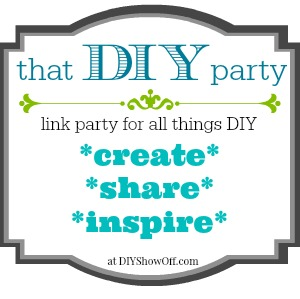 That DIY Party link party at diyshowoff.com