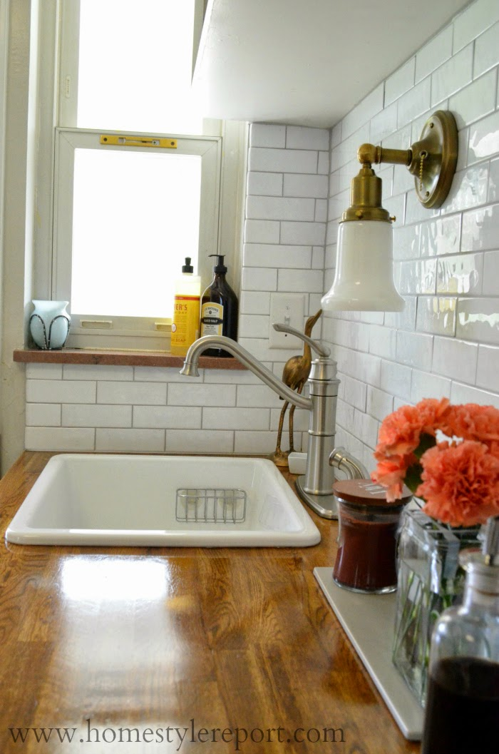 beautiful kitchen reveal at homestylereport