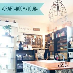 craft room tour at DIY Show Off