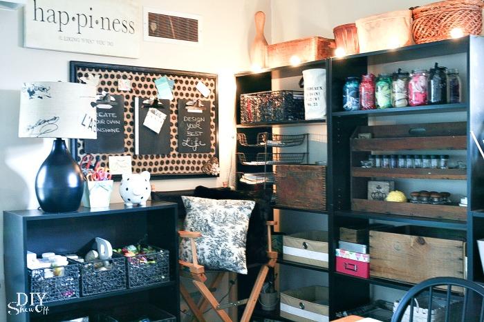 storage for craft room