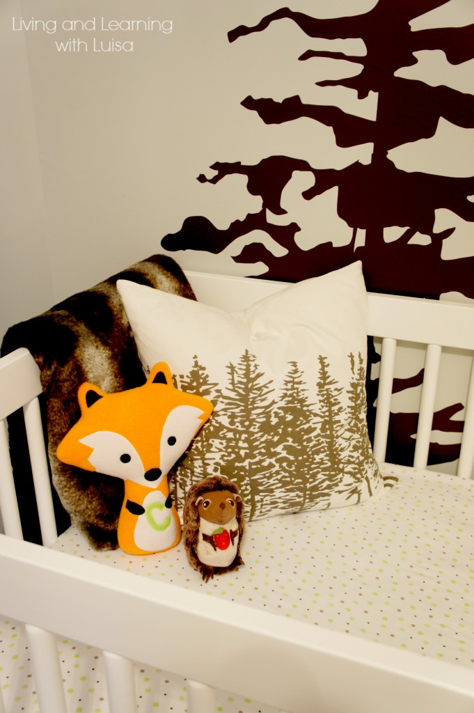sweet woodland nursery at Living and Learning with Luisa