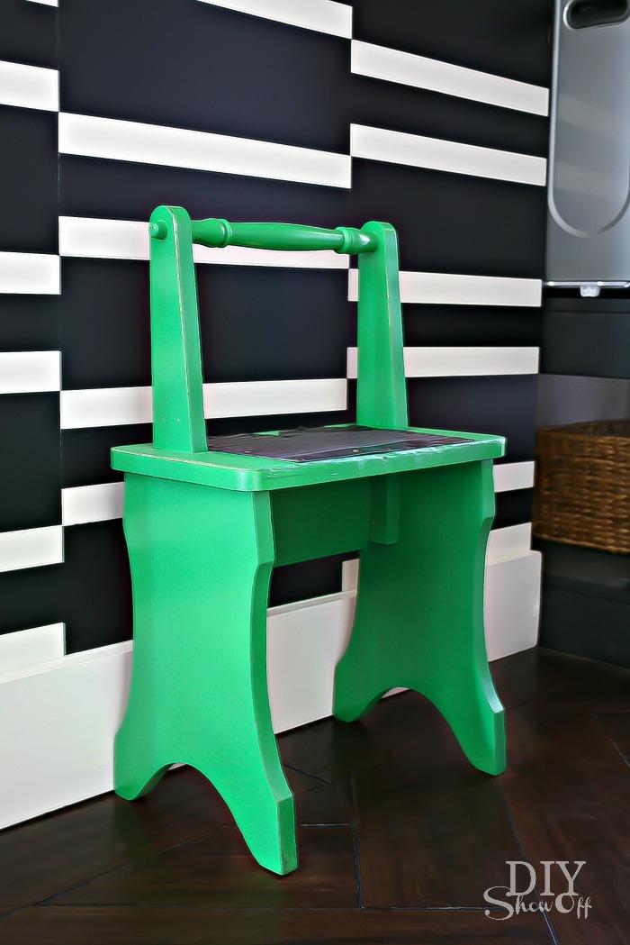DIY Show Off step stool makeover
