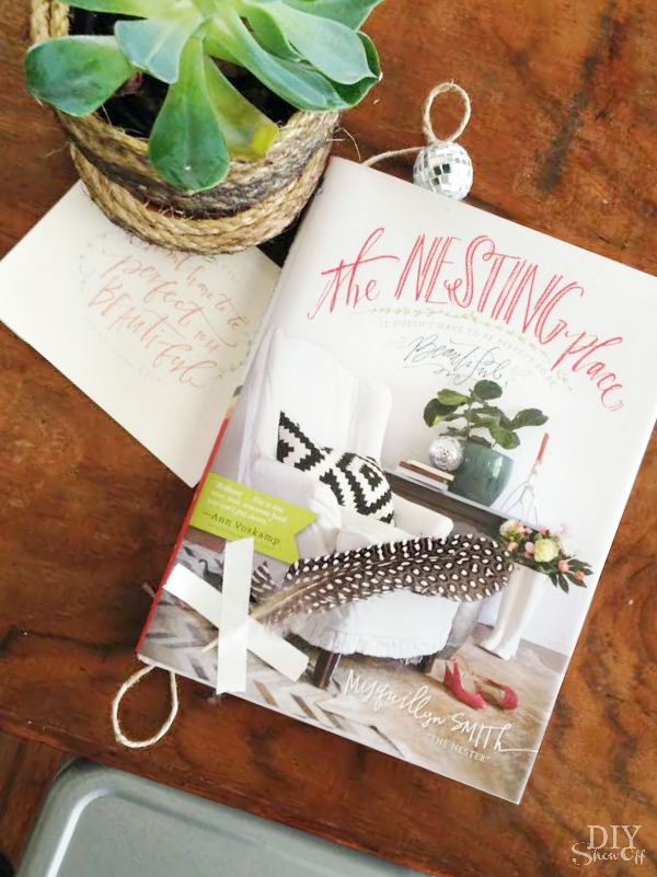 the Nesting Place book giveaway at diyshowoff.com