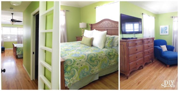beach cottage bedroom