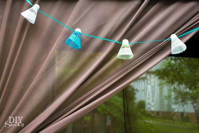 DIY Birdie Garland / Summer Blog Hop