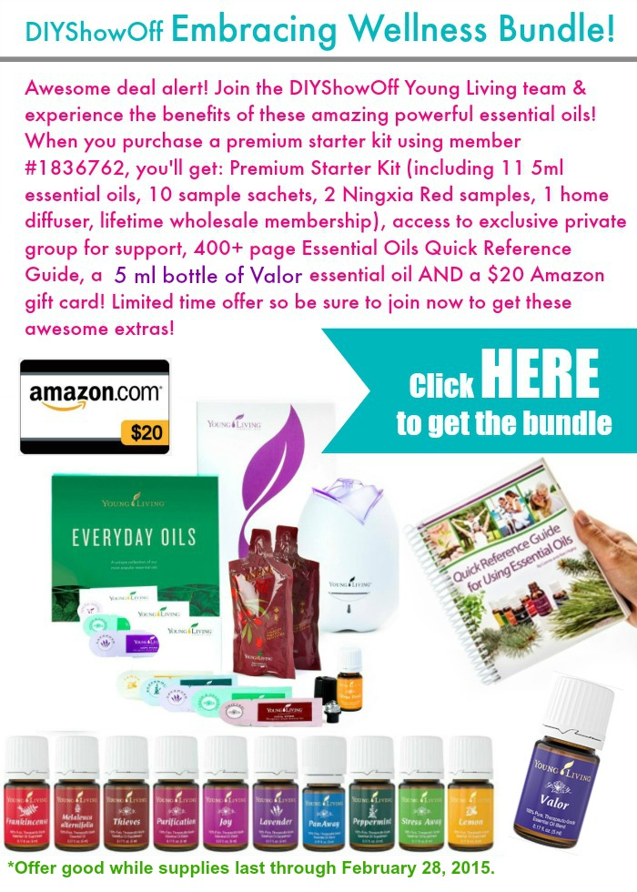DIYShowOff February 2015 Essential Oil Bundle