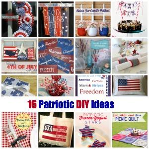 16 Patriotic 4th of July DIY highlights from That DIY Party at diyshowoff.com