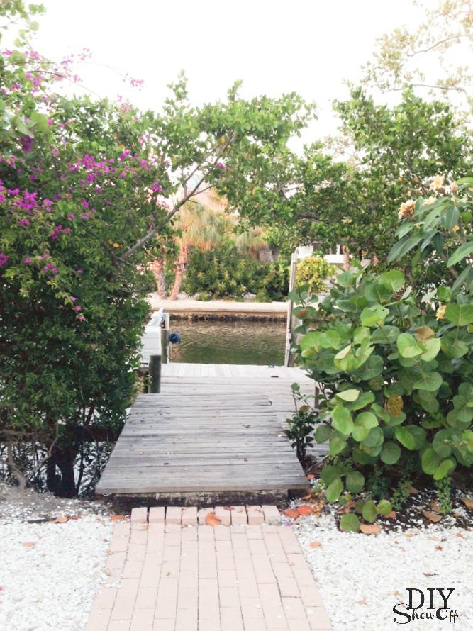 Sirenia Cove dock