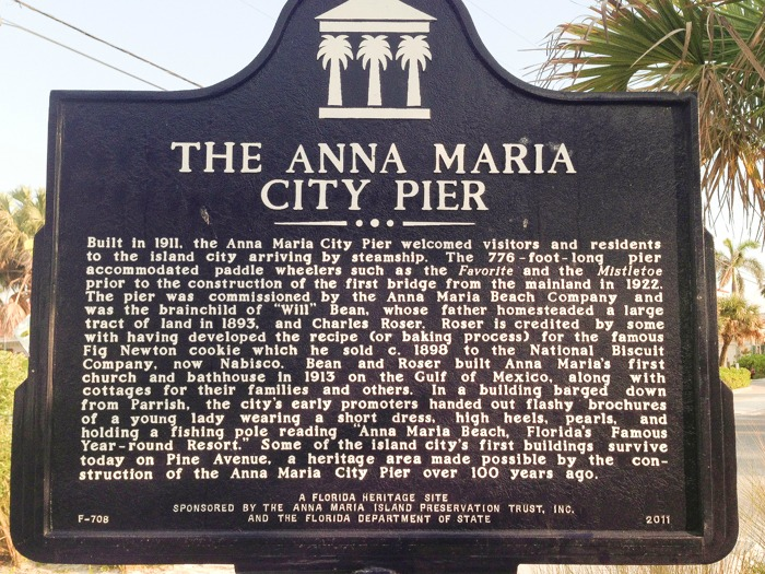 The Anna Maria City Pier