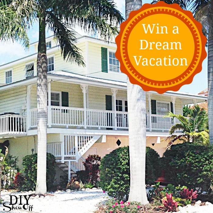 Win a Dream Vacation at diyshowoff.com