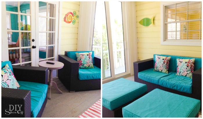 beach cottage screened porch