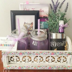 essential oils gift basket @diyshowoff