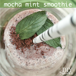 mocha mint smoothie