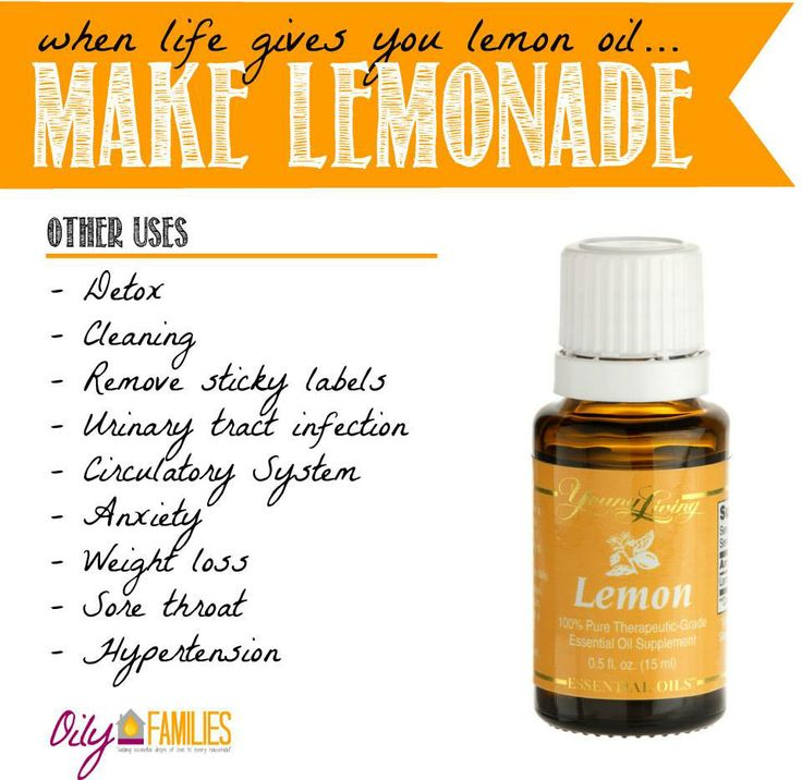 organic lemonade recipe using Young Living essential lemon oil