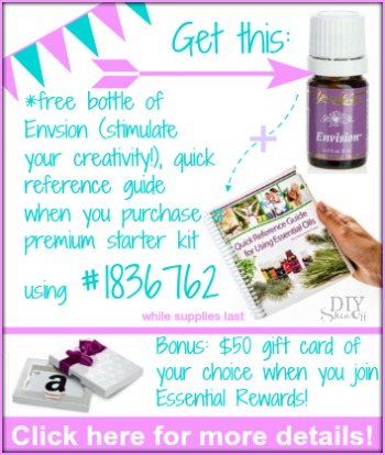 July deal for Young Living team at diyshowoff.com