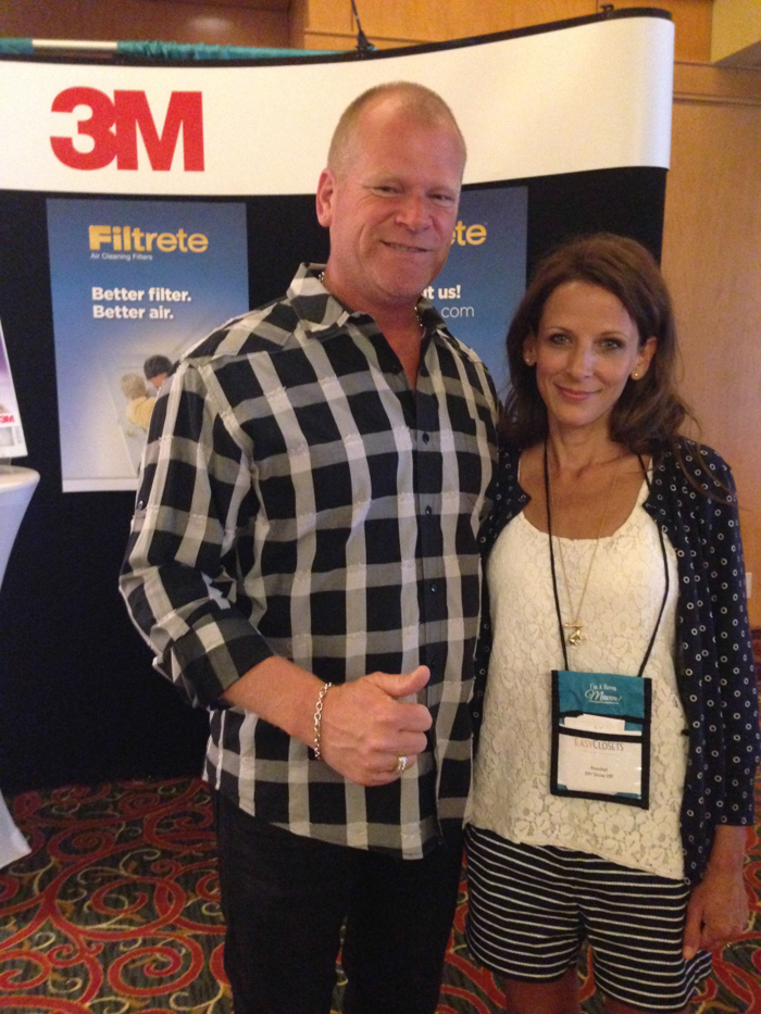 Roeshel @DIYShowOff and Mike Holmes