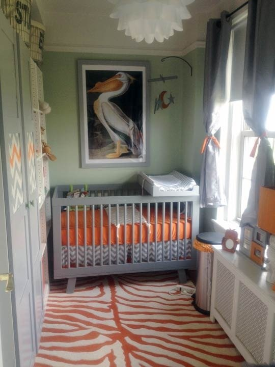 Small Bedroom For Couples And Baby: Small Shared Room Nursery Inspiration