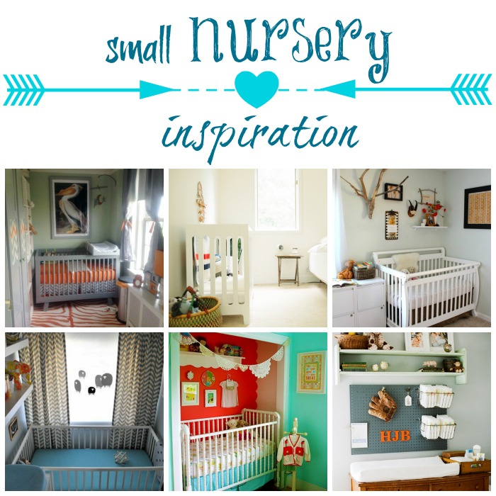 Small shared room nursery inspiration diy show off diy decorating and home improvement - Baby room ideas small spaces property ...