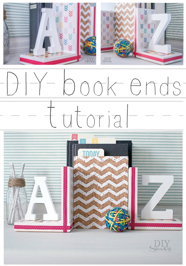 Diy book ends diy show off diy decorating and home improvement a to z book ends tutorial diyshowoff solutioingenieria Gallery