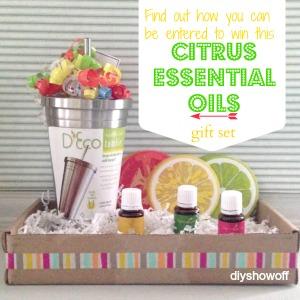 Citrus Essential Oils Gift Set @diyshowoff