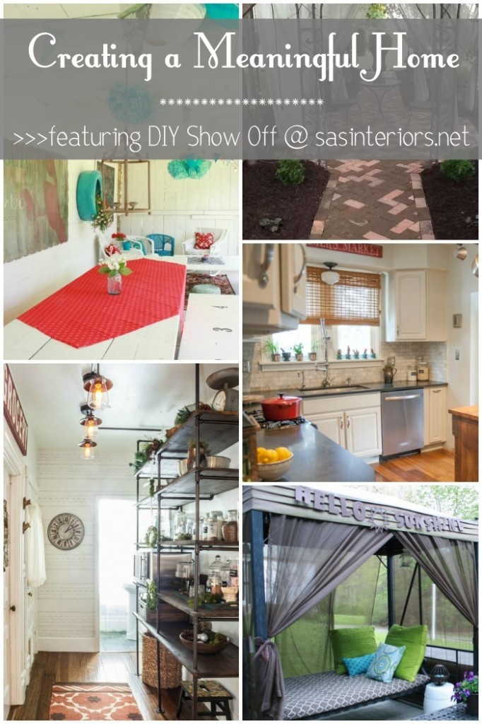 DIY Show Off - Creating a Meaningful Home - SAS Interiors