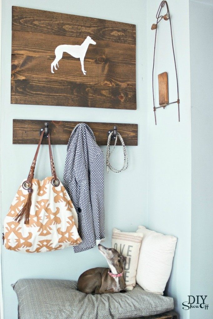 701f727597e0 Silhouette Scrap Wood Wall Art - DIY Show Off ™ - DIY Decorating and ...