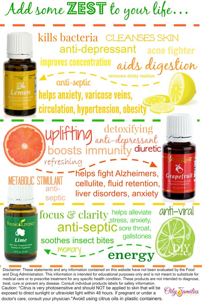 Printable Young Living Zest Card from diyshowoff.com #1836762