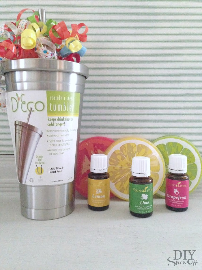 Young Living Citrus Essential Oils gift idea @diyshowoff