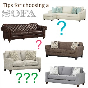Tips for choosing a sofa #havertysrefresh @diyshowoff